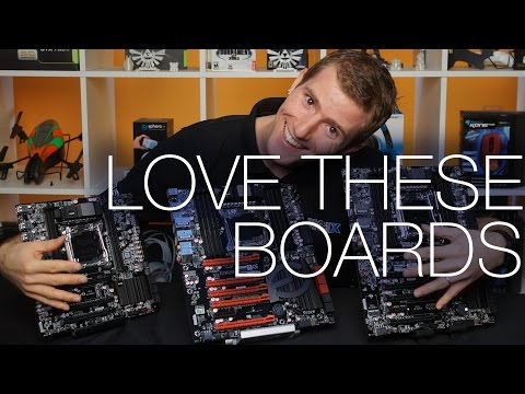 EVGA X99 Chipset Motherboards ft. Classified, FTW, and Micro