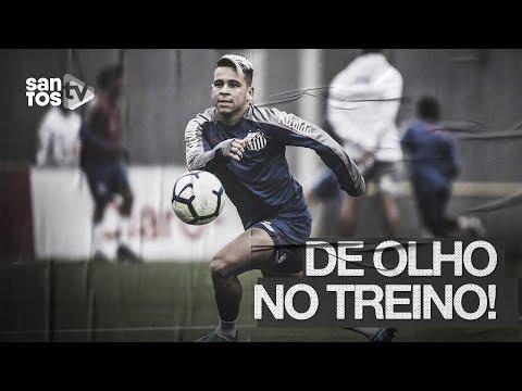 SANTOS TREINA E MIRA JOGO COM O FLUMINENSE | DE OLHO NO TREINO (23/09/19)