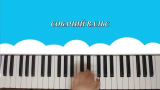 видео на синтезаторе собачий вальс