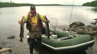 Рыбалка на озёрах  Поньгома и Левицкое. Северная Карелия.