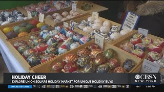 Tips On Shopping Union Square's Holiday Market