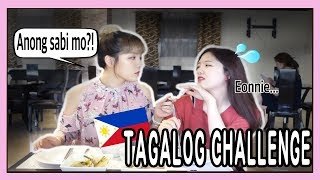 SPEAKING ONLY TAGALOG TO MY KOREAN SISTER FOR 24HRS?! // DASURI CHOI
