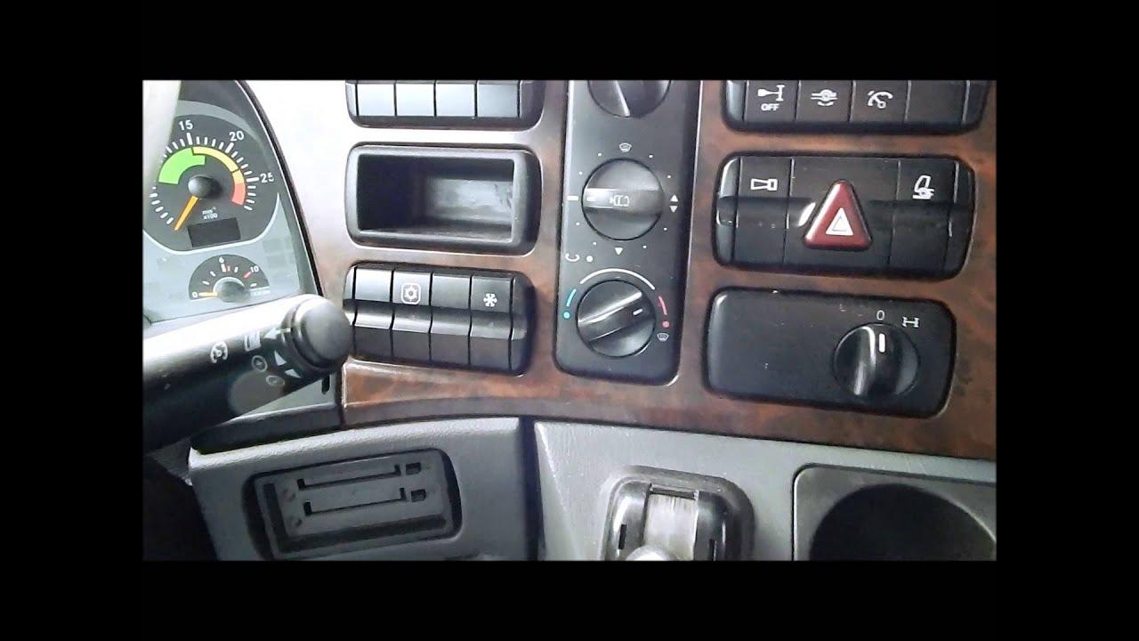 Świeże Mercedes Actros Mp2- 800 tys km. - YouTube ZB68