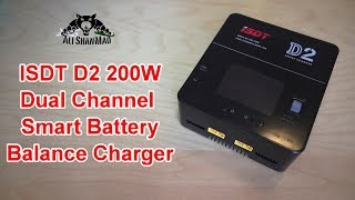 ISDT D2 200W 20A AC Dual Channel Output Smart Battery Balance Charger