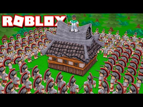 BUILD A FORTRESS TO SURVIVE IN ROBLOX
