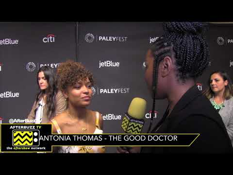 Antonia Thomas Chats About Clarie's Romances on The Good Doctor | PaleyFest 2018