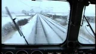 87014 Carlisle - Penrith Winter Cab Ride Driver`s Eye View