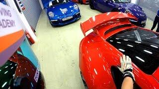 HOT LAP Moscow Raceway Porsche GT3 991 WET