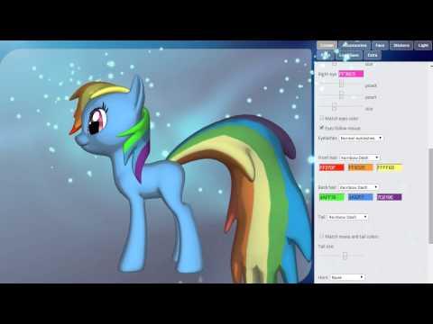 Создаем 3D Пони /  Малика (Принцесса Селестия)