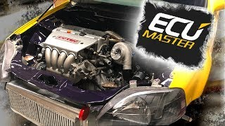 Pt.4 | LAMBO KILLER BUILD | 600HP AWD TURBO HONDA CIVIC | ECU MASTER STANDALONE ECU WIRING!