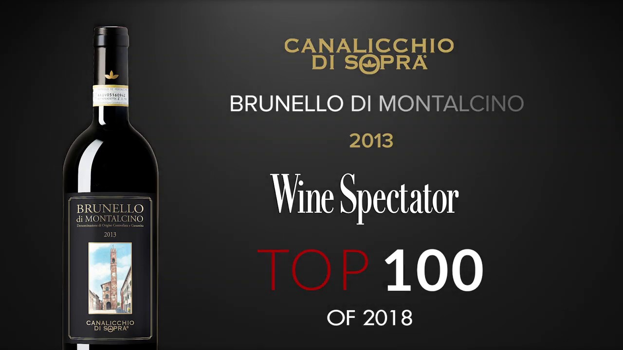 Brunello di Montalcino 2013 Canalicchio di Sopra- #15 in Wine Spectator TOP 100 - November 2018