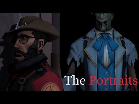 The Portraits [SFM Creepypasta]