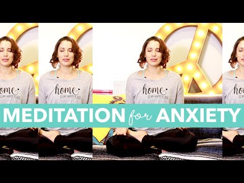 Meditation for Anxiety, Stress, Panic - How to Meditate for Beginners - BEXLIFE