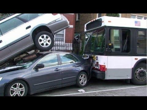 Bus accident Bus crash compilation 2013 Part 1