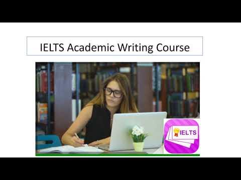 IELTS Academic Writing Course presentation