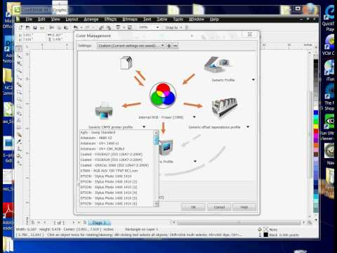 Setting Up Color Management for CorelDRAW Versions 11, 12, 13 & 14 -