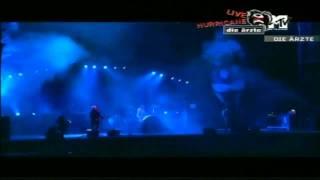 Die Ärzte - DieTraurige Ballade von Susi Sparkowski (Hurricane 2005) HD