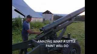TO BUILD A BOWLING BALL CANNON HOWITZER