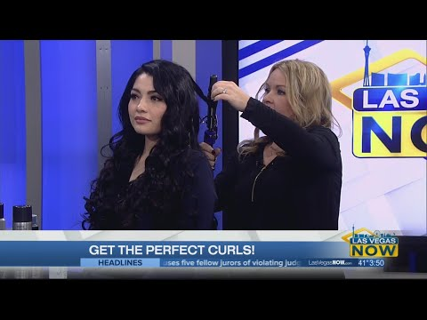 Getting the perfect curls with Sally's Beauty
