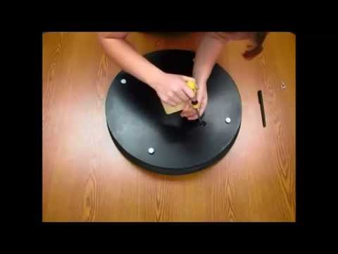 How To Install A Low Profile Lazy Susan