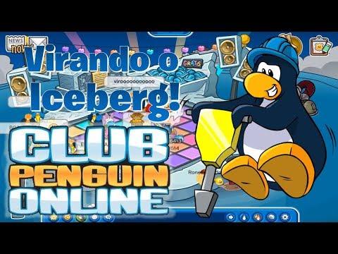 Virando o Iceberg! - Club Penguin Online