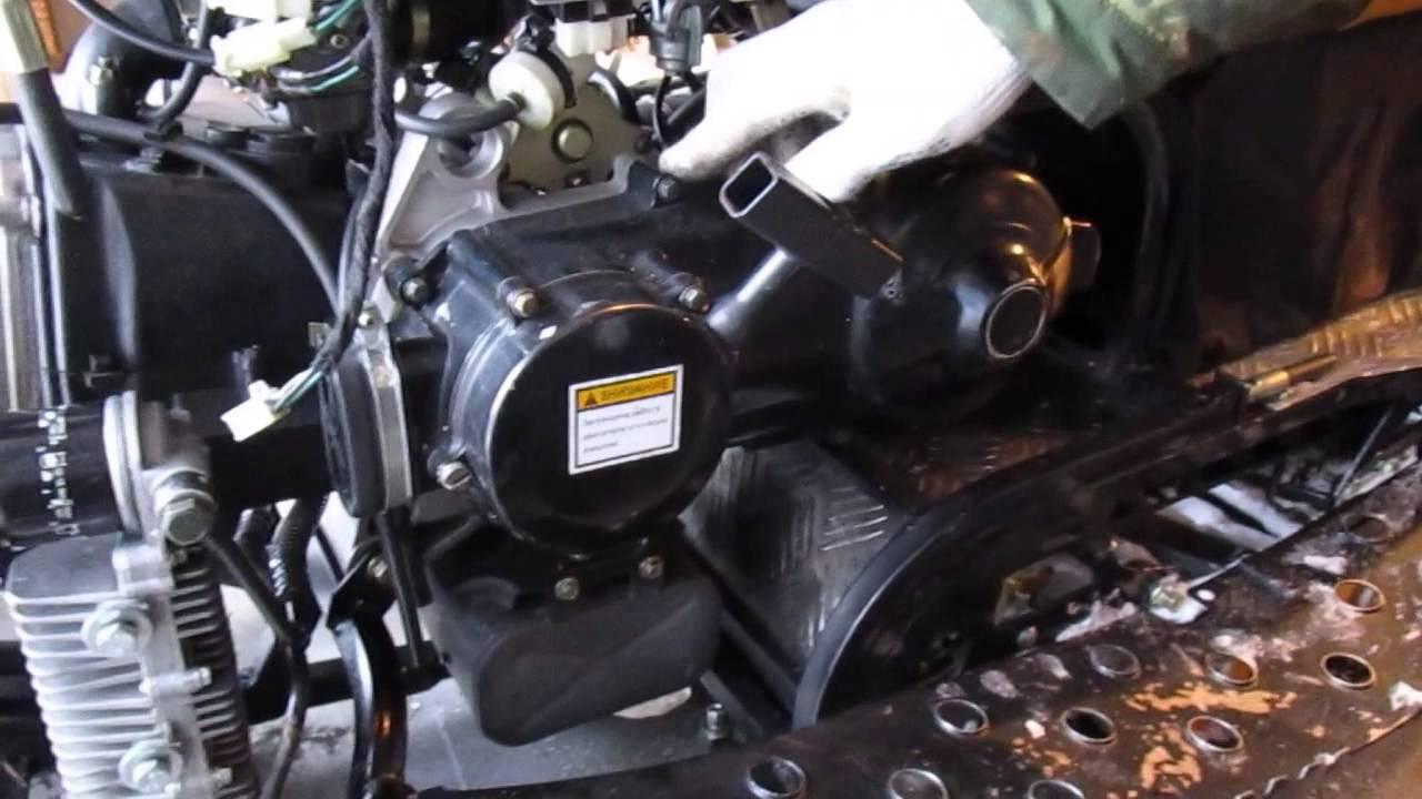 Динго 150 доводим до ума (про двигатель)