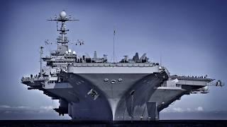 Морские Монстры ТОП 10 Самые Большие в Мире Военные Корабли Авианосец Линкор Подлодка Крейсер Судно