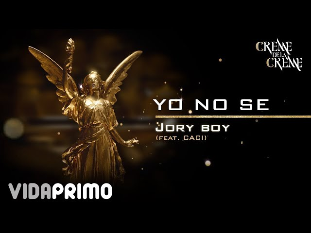 Jory Boy - Yo No Se ft. Caci [Official Audio]