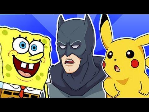 Batman, Pokemon, Spongebob and more - SATURDAY MORNING CARTOONS!