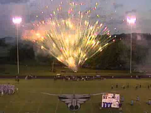 Anderson County Homecoming Fireworks Youtube