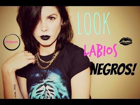 Look Labios Negros/Mon♥