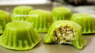 BÁNH QUY LÁ DỨA NHÂN DỪA Dẻo Mềm Thơm Ngon | Nhung Cooking