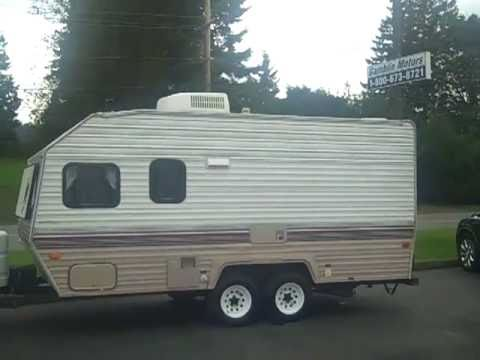 1994 nomad trailer 18 foot art gamblin motors jim v1916h youtube rh youtube com 1982 16 FT Sunline Camper Sunline 15 Trailer