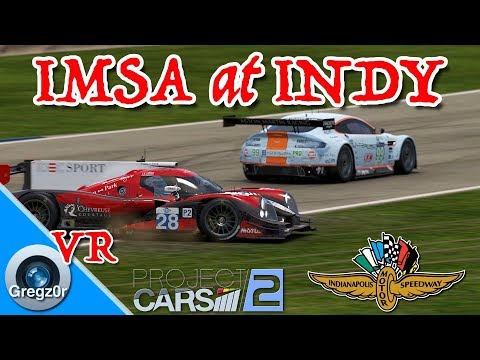 [VR] 🇺🇸 'IMSA at Indy.' LMP2 Multi-Class Action.