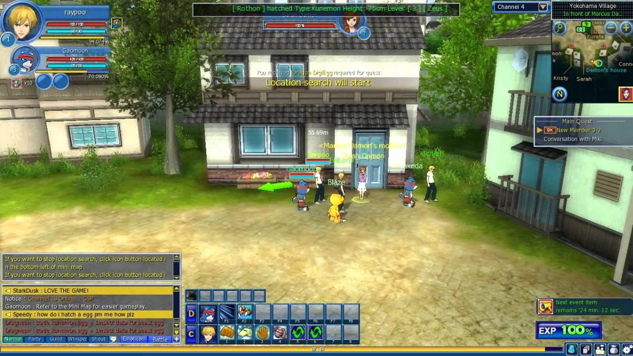 Digimon Masters Online Gameplay - First Look HD - YouTube