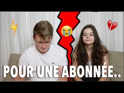 JE QUITTE SOFIA POUR UNE ABONNÉE.. (FAQ)