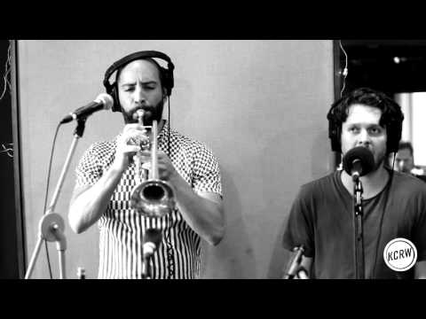 "Beirut performing ""No No No"" Live on KCRW"