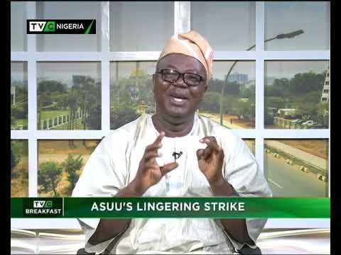 TVC Breakfast 13th November 2018 | ASUU's Lingering Strike