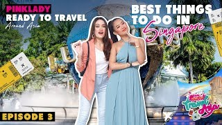 MISS PINKLADY TRAVEL IN ASIA EPS 3 - BEST THINGS TO DO IN SINGAPORE.