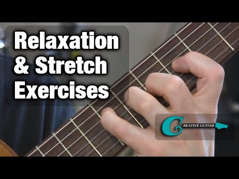Guitar Technique: Relaxation & Stress Reduction