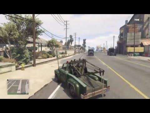 Gta5 Tow Truck Fun