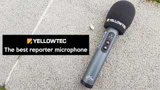 Yellowtec iXm | The best TV / RADIO reporter microphone in the world