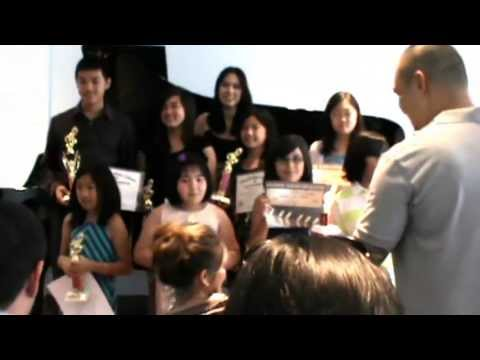 Presentati of Trophies & Certificates of Janet Triyarns piano students