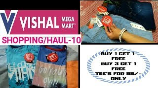 Shopping/haul-10,Buy 1 get 1 free, Buy 3 get 1 free, Offers and  Discounts @ Vishal  Megamart