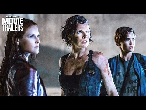 Explosive New 'Resident Evil: The Final Chapter' Clip Compilation