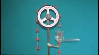 How to Make a Simple and Powerful Water Pump - DIY - Free Energy Pump - See how it works