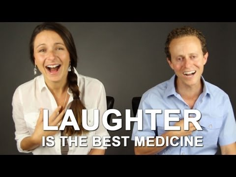 Laughter is the best medicine -- Laughing meditation