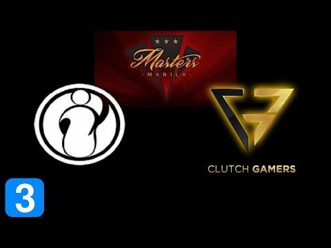 IG vs Clutch Gamers Game 3  Masters Manila 2017 Highlights Dota 2