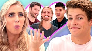 I let Ben Azelart Pick My Boyfriend | Date Takeover w/ Ben Azelart & Lexi Hensler