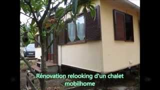 Isolation exterieur toiture facade chalet Mobil home